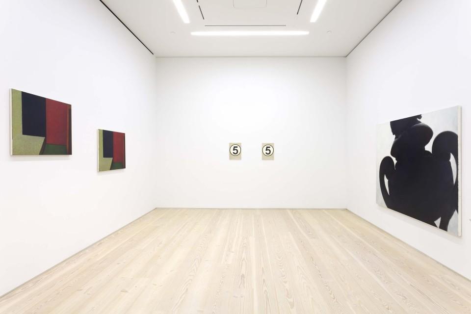 Installation view of Mitsuko Miwa